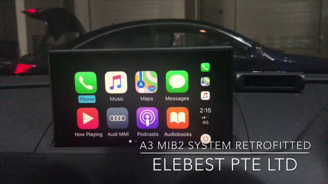 Audi A3 8v Mib2 System With Apple Carplay Retrofitted Youtube