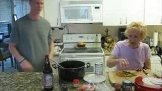 Cooking Chili With Gammies