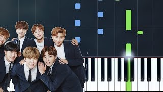 "BTS (방탄소년단) - ""Epiphany""  Piano Tutorial - Chords - How To Play - Cover"