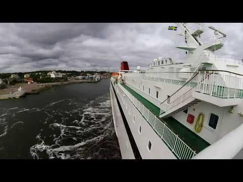 M/S Visby entering fairway to Oskarshamn