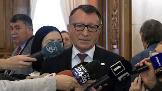 Discurs şi declaraţii de presă susţinute de Paul Stănescu la Palatul Parlamentului - 03.11.2017