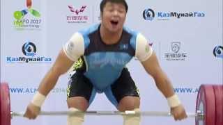 Men 94KG A Snatch 2014 World Weightlifting Championships