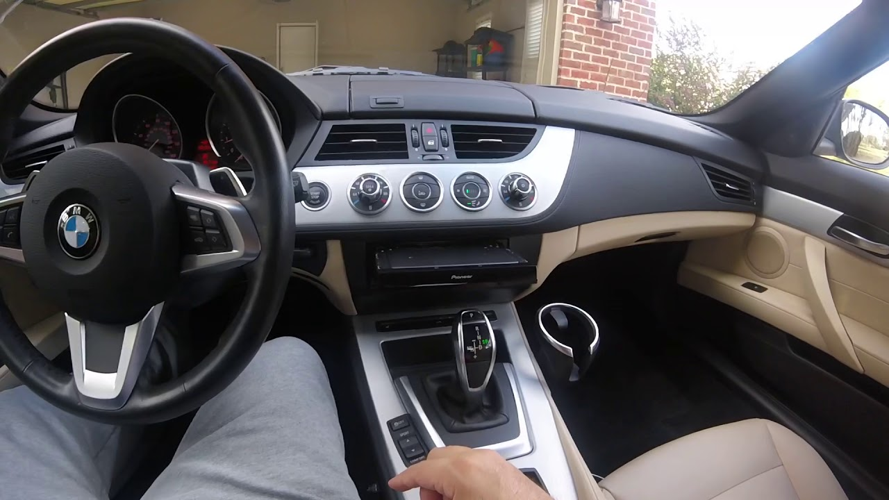 Bmw Z4 E89 Stereo Replacement With Carplay