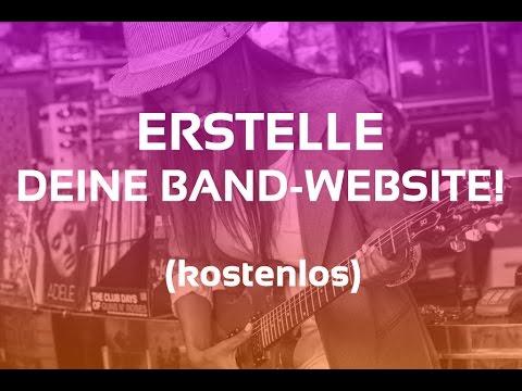 Band Webseite Mit Wix Erstellen: In 36 Minuten U2's Webseite Nachgebaut!