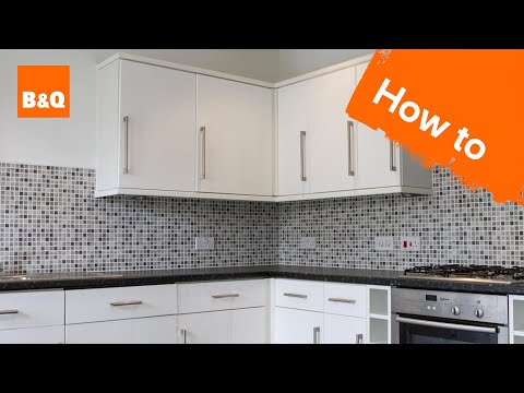 How to fit kitchen units part 2: fitting unit doors & handles