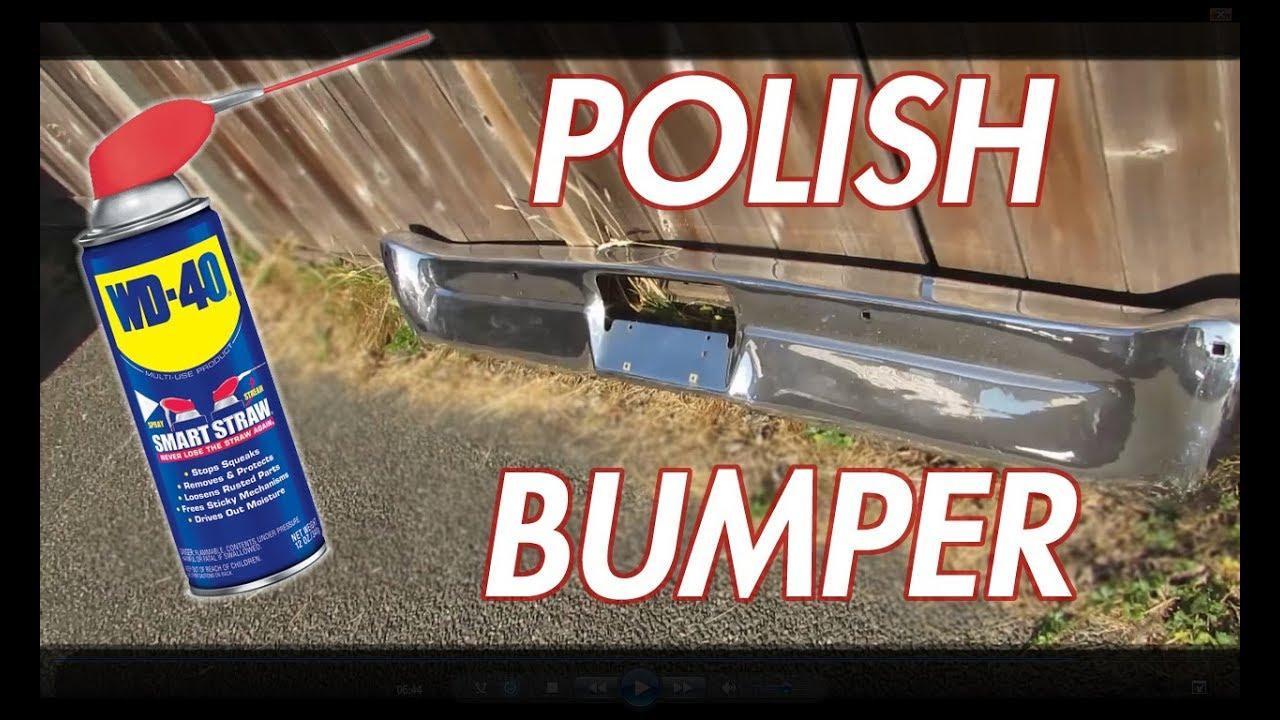 HOW TO: POLISH CHROME BUMPERS LIKE NEW