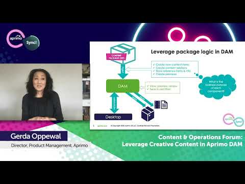 Content & Operations Forum Day 3: Leveraging Creative Content in Aprimo DAM