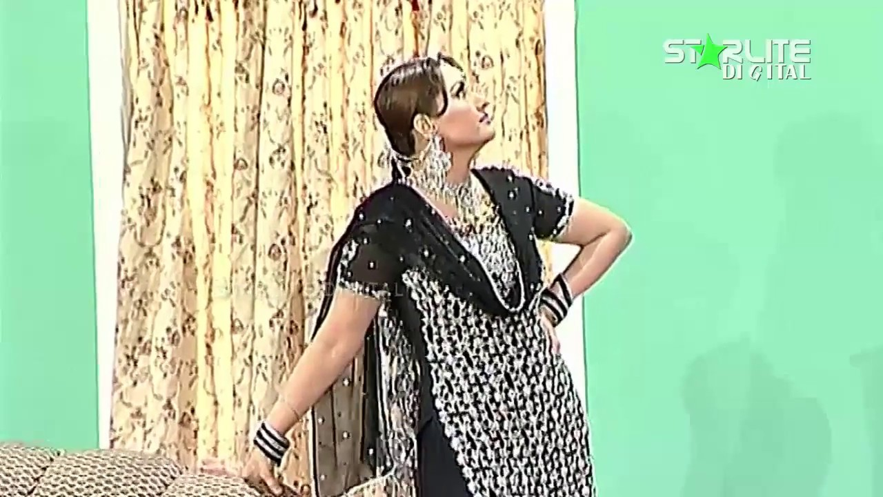 Best of Nargis and Sajan Abbas New Pakistani Stage Drama Full Comedy Funny Clip