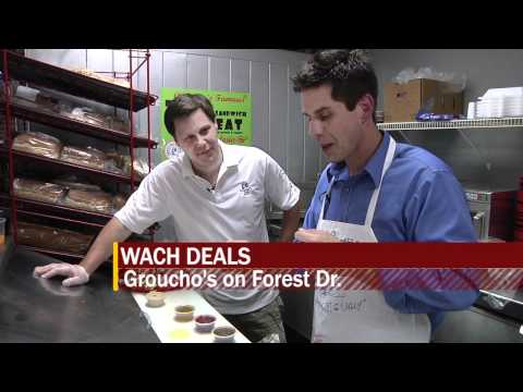 WACH Fox Deals: Groucho's Deli Forest Drive