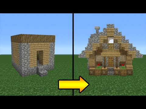 Building A Villager House