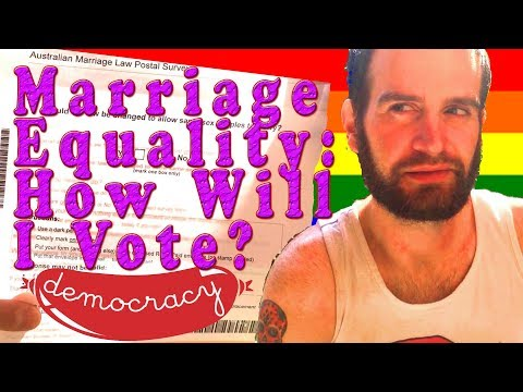 Marriage Equality Australia - How Will I Vote?