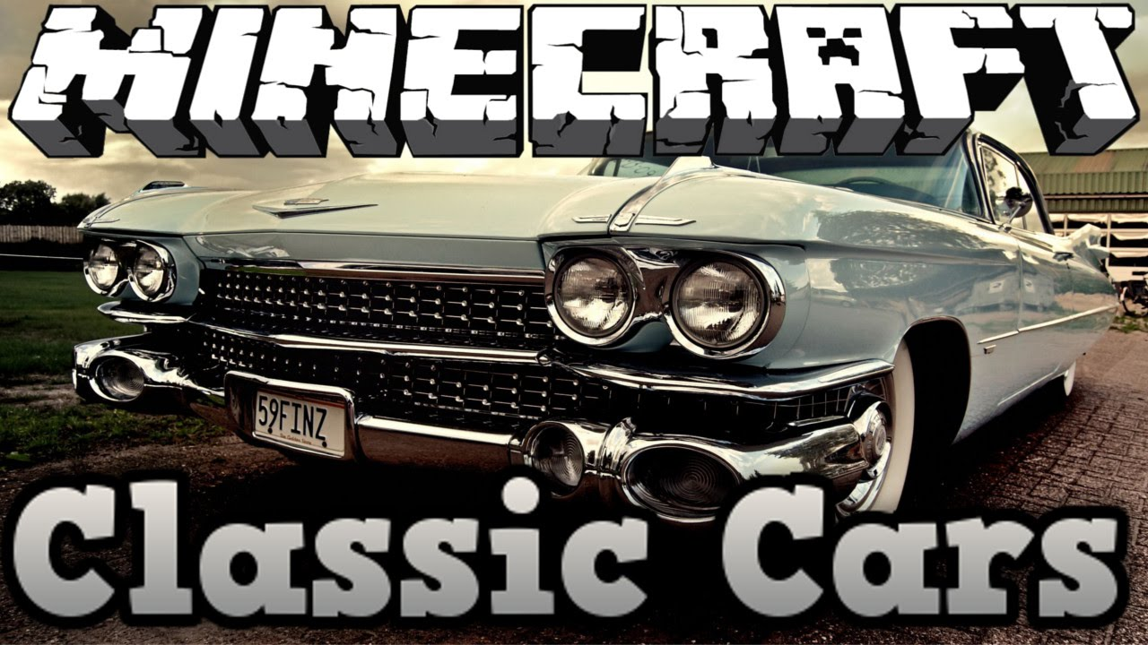 Minecraft Vehicle Tutorial - How to build - ZHD Classic Cars. - YouTube