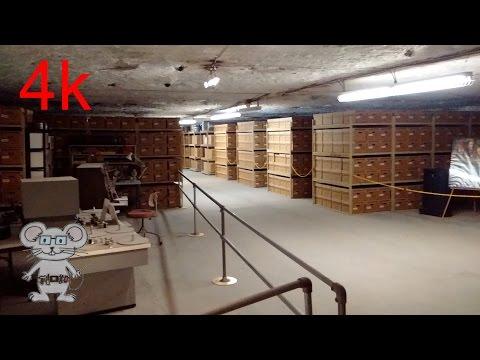 Underground Vaults And Storage In 4K