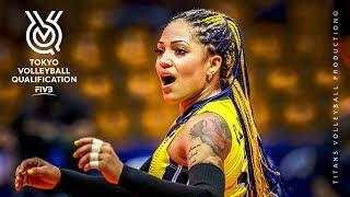 Brenda Castillo Amazing Volleyball Libero  UNBEL EVABLE D GS  Womens Volleyball F VB OQT 2019