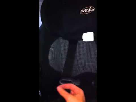 Evenflo Car seat adjustment
