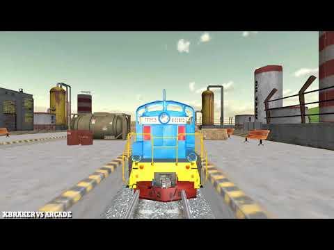 Oil Tanker Train Simulator New Train Unlocked Android Gameplay 2018 #02