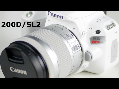 Canon Rebel SL2 unboxing and hands on!