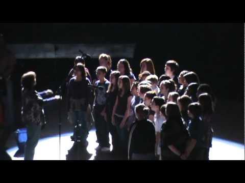 Manchester Middle School Chorus at the Richmond Coliseum
