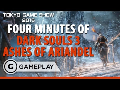 Dark Souls 3: Ashes of Ariandel - TGS 2016 Gameplay