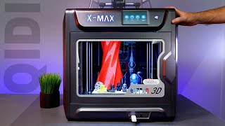 QiDi X-Max - 3D Printer - Unbox and Setup