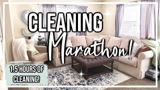 CLEANING MARATHON | 1.5 HOURS OF EXTREME CLEANING MOTIVATION