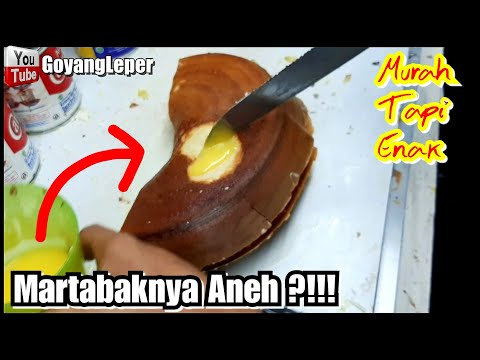 MURAH BANGET MARTABAKNYA CUMA 22 RIBU SAJA!!! JAKARTA STREET FOOD - KULINER INDONESIA