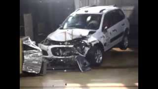 Краш тест Лада Калина Кросс /Crash test Lada Kalina Cross