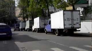 Брат/2. Одно из мест съемок в Москве. 5.05.2012