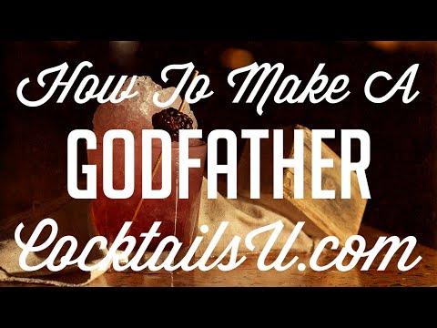 How To Make A Godfather - Cocktail Tutorial - Cocktails U