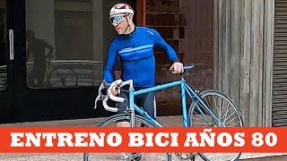 Entrenamiento con bici años 80 | Ibon Zugasti