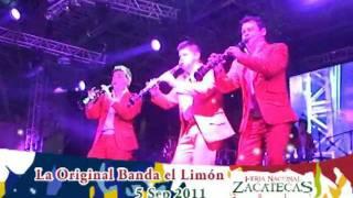 5 Sep 2011 La Original Banda El Limón Feria Nacional Zacatecas - FENAZA 2011-2 de 3
