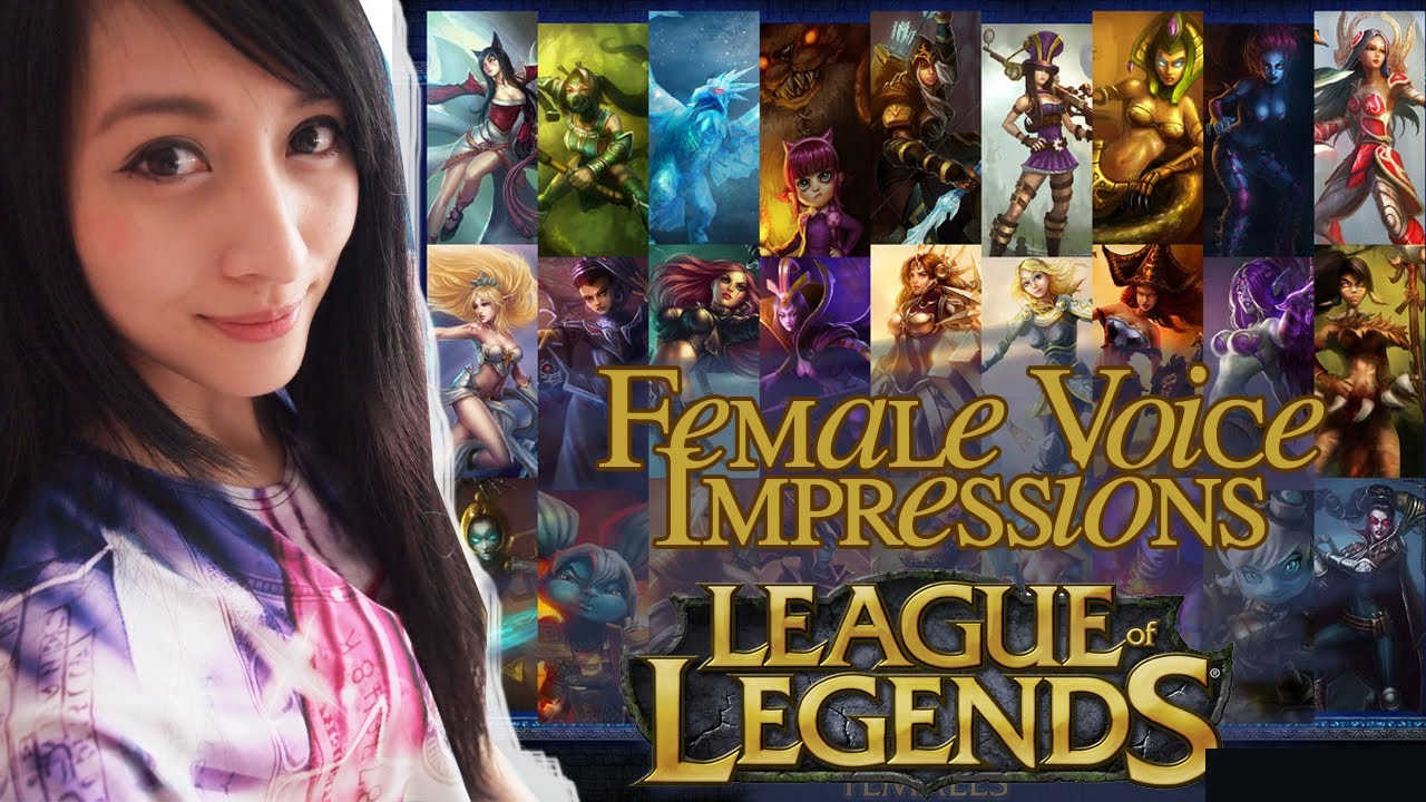 Voicing All FEMALE League Of Legends Champions