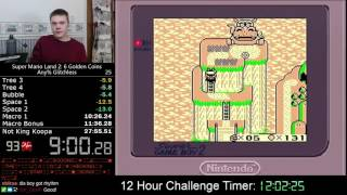 (27:35) Super Mario Land 2: 6 Golden Coins any% glitchless speedrun