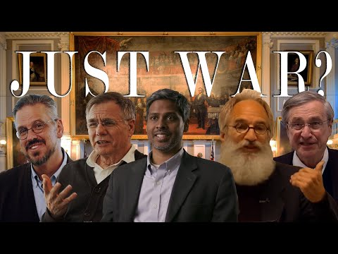 """It's Just War"" - Should Christians Fight? Debate"