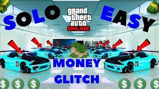 *SOLO*NEW* UNLIMITED MONEY GLITCH*WORKING CAR DUPLICATION GLITCH*GET MONEY FAST*GTA 5 ONLINE 1.42