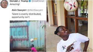 """Ronald wa Tanzania aliyesifiwa na Rais Trump afunguka """"Mpira hauna dawa ni kipaji"""""""