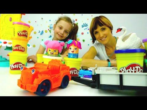 Дети и родители: игры для детей с массой для лепки Плей До. Детское творчество play doh