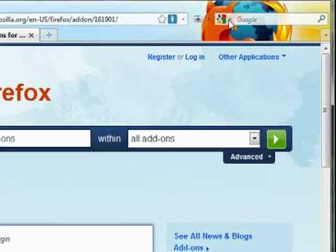 Google SSL in Firefox