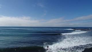 Beach Surf Ocean Droning, Werri Beach, South Coast NSW, Australia