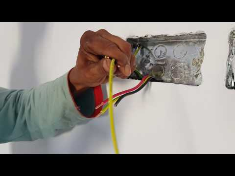 13 A Double socket Fitting in Wall।Electrical Work in Construction।Electrician in Asia