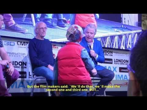 Christopher Lloyd and Tom Wilson talk about Back to the future 4 and 7 !