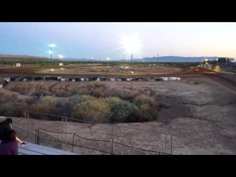 Mohave valley raceway mini stock heat 1 3/26/2016