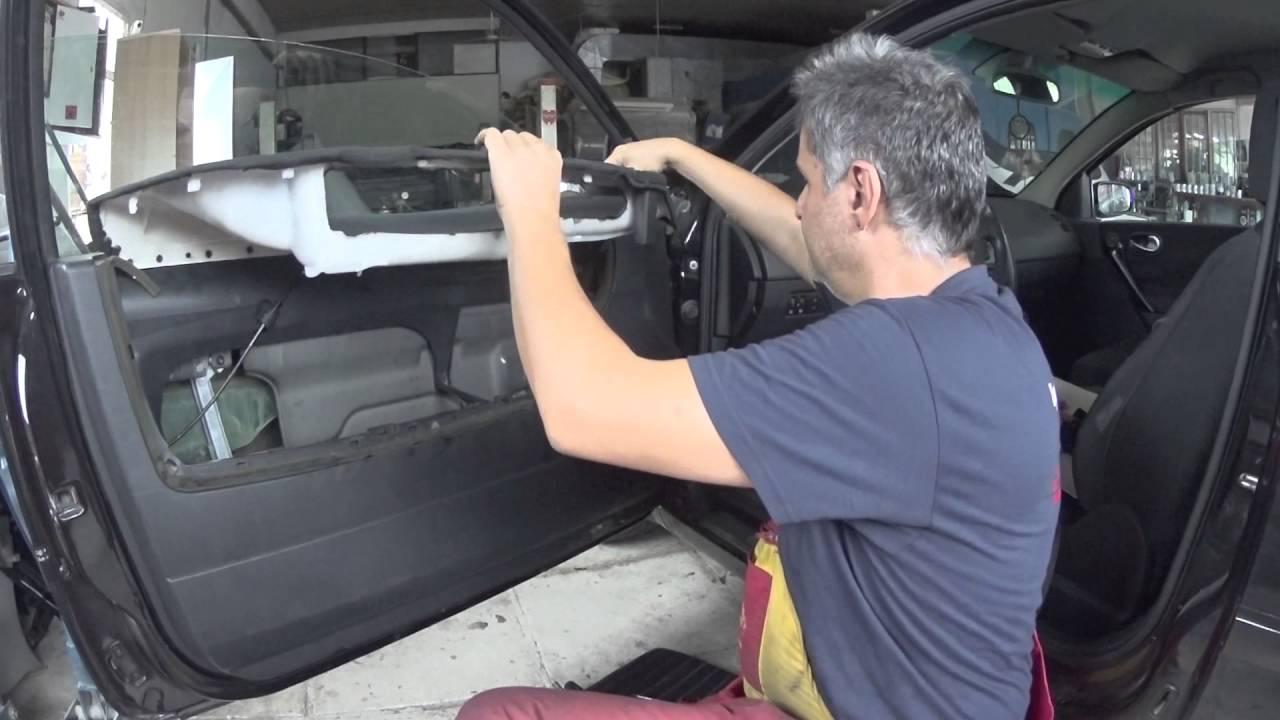 renault megane 02 08 door panel removal youtube [ 1280 x 720 Pixel ]