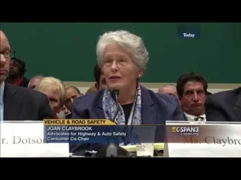 U.S. House Subcommittee on Commerce, Manufacturing and Trade - Oct. 21, 2015