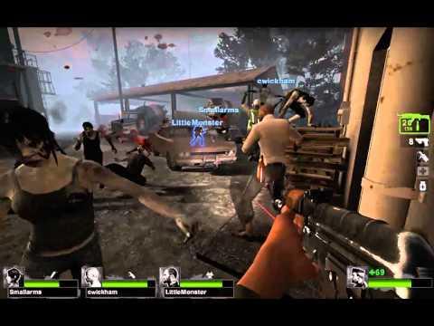 Left 4 Dead 2 - The Sacrifice - Level 2: The Barge