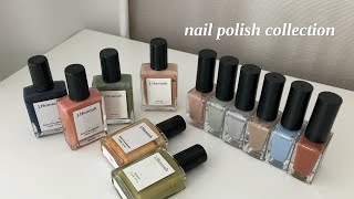 my nail polish collection✨ | 취…