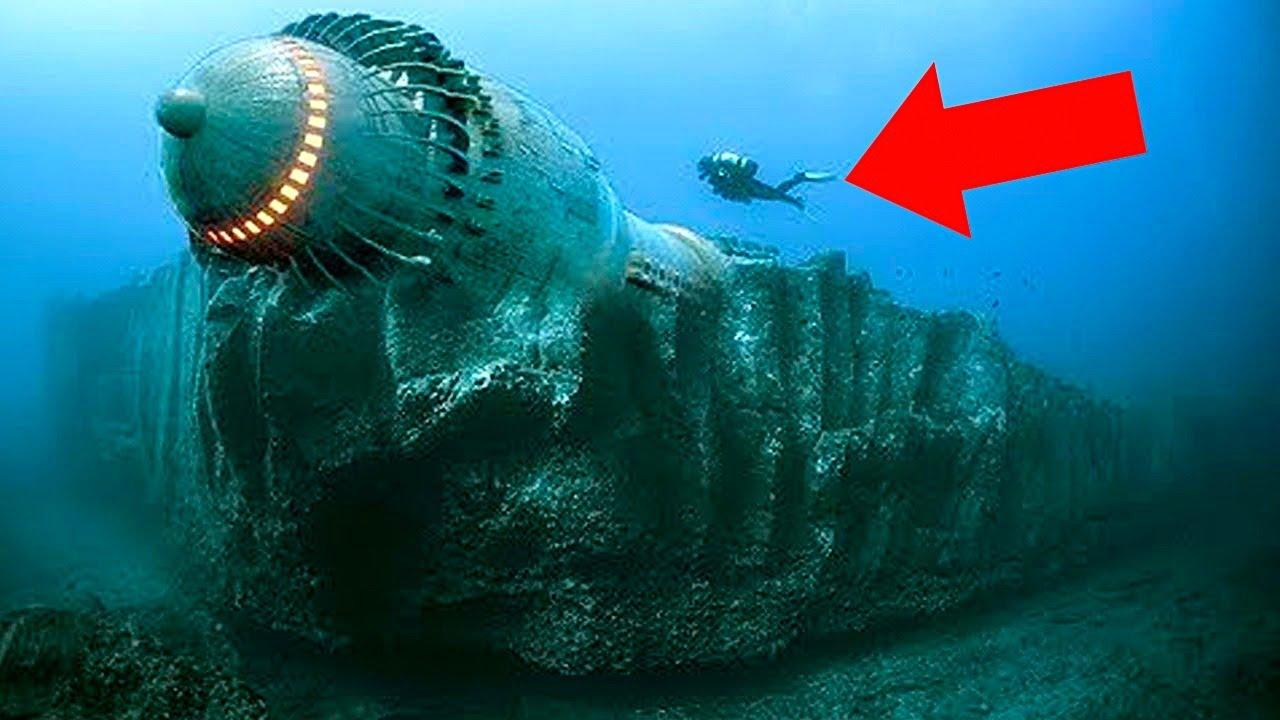 5 Загадочных Подводных Находок, Которые Учёные До Сих Пор не Могут Объяснить