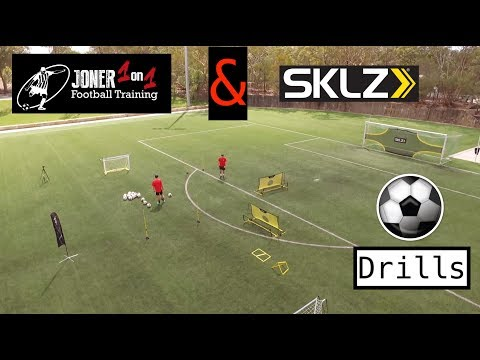 Soccer Drills With Joner 1on1 & SKLZ | Tekkers | Goals | Training Drills