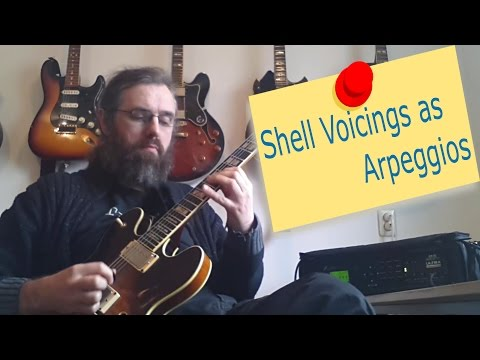 Shell Voicings as Arpeggios