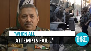 Watch: How Army tracks, eliminates terrorists in J\u0026K, explained by top officer